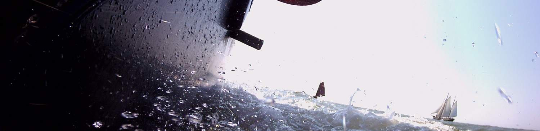 in actie op het ijsselmeer
